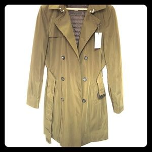 NWT Quilted Trench /Rain Coat | River Island
